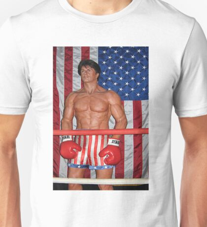 Sylvester Stallone As Rocky Balboa-PILLOW,TOTE BAG,TEE SHIRT,SCARF,BOOKS ,ECT.. Unisex T-Shirt