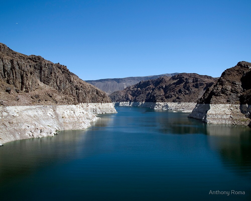 Lake Mead from the Hoover Dam by Anthony Roma