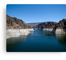 Lake Mead from the Hoover Dam Canvas Print