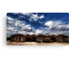 The Whistlestop Motel 3 - Decatur, Texas Canvas Print