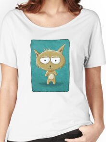 Teddy Cat Tee Women's Relaxed Fit T-Shirt