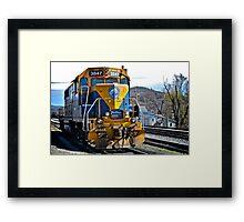New England Central Railroad - Power Unit #3847 - 2000 Horsepower Framed Print