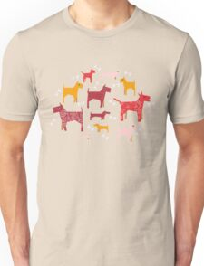Dogs Funny Unisex T-Shirt