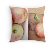 first harvest :: apples {3} Throw Pillow