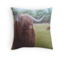 Highlander Throw Pillow