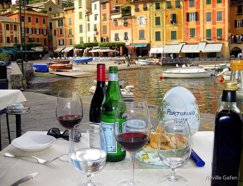 Lunch in Portofino by Neville Gafen