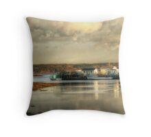 Gabarus Barrachois Cape Breton Island Nova Scotia Canada Throw Pillow