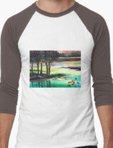 Flow of time Men's Baseball ¾ T-Shirt