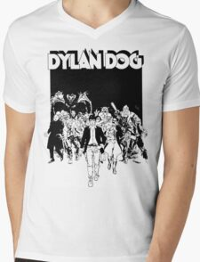 Dylan Dog Mens V-Neck T-Shirt