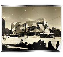 Federation Square Melbourne 2011 Poster