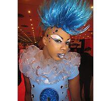Fabulous blue Photographic Print