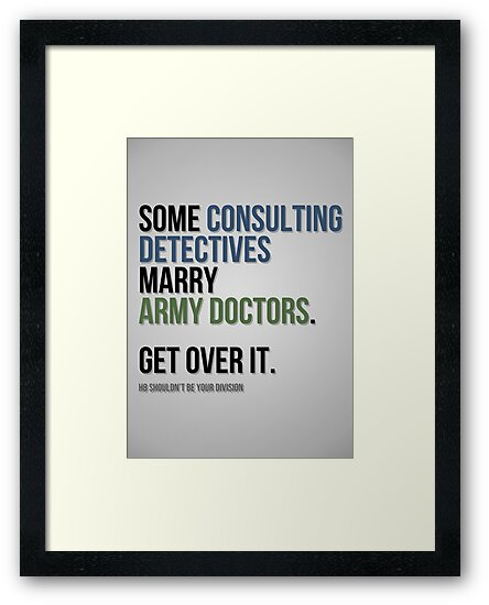 Some Consulting Detectives... by Ross Wilson
