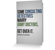 Some Consulting Detectives... Greeting Card