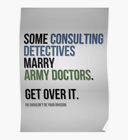 Some Consulting Detectives... Poster