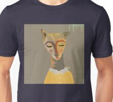 catwoman on yellow shirt. Unisex T-Shirt