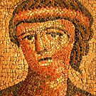 mosaic of roman woman by neil harrison