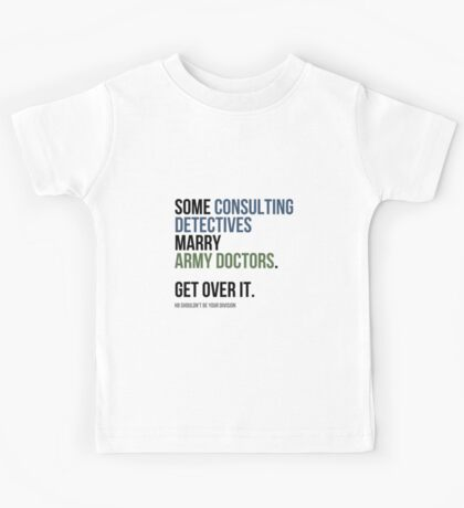 Some Consulting Detectives... Kids Tee