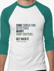 Some Consulting Detectives... Men's Baseball ¾ T-Shirt