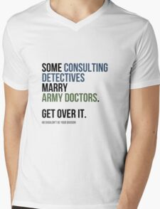 Some Consulting Detectives... Mens V-Neck T-Shirt