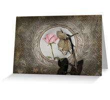 Look In The Mirror...What Do You See? Greeting Card