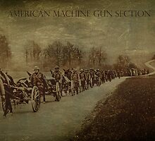 American Machine Gun Section by garts