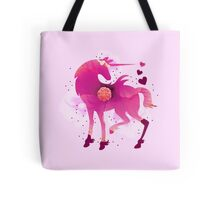 Flowering Unicorn Tote Bag