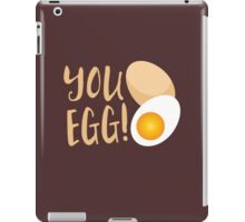 You egg (with golden egg) funny Kiwi Saying iPad Case/Skin