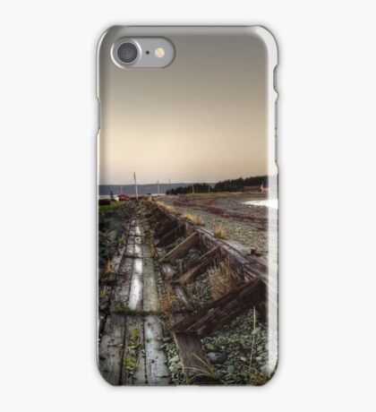 Gabarus Boardwalk, Cape Breton Island, Canada iPhone Case/Skin