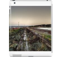 Gabarus Boardwalk, Cape Breton Island, Canada iPad Case/Skin