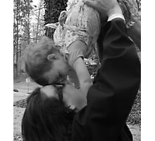 Love is in the Air [b&w} Photographic Print