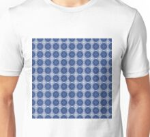 Blue and white oriental pattern Unisex T-Shirt