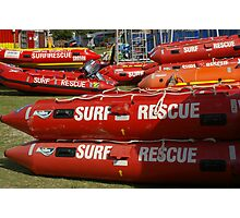 NSW Surf lifesaving comp, dinghy's, Kingscliff 2011 Photographic Print