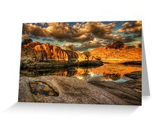 Once Upon A Cove Greeting Card