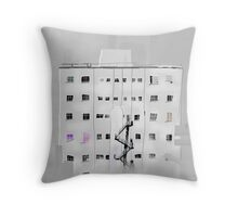 Old City Building Throw Pillow