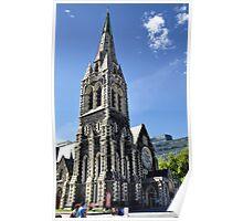 Christchurch Cathedral, Christchurch NZ Poster