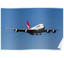 Qantas Airbus A380 Poster