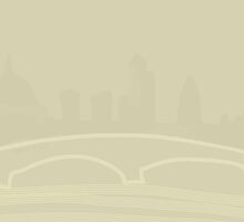 London Skyline by Nigel Silcock