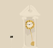 Clock and Candle by Nigel Silcock