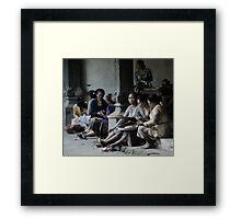 Women of Ubud Framed Print
