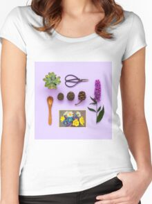 Collected  Women's Fitted Scoop T-Shirt