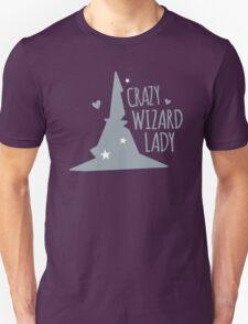 Crazy Wizard Lady Unisex T-Shirt