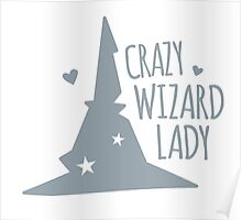 Crazy Wizard Lady Poster