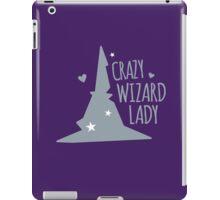 Crazy Wizard Lady iPad Case/Skin