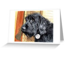 Labradoodle Ralph Greeting Card