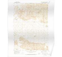 USGS Topo Map Oregon Jordan Craters South 280342 1969 24000 Poster