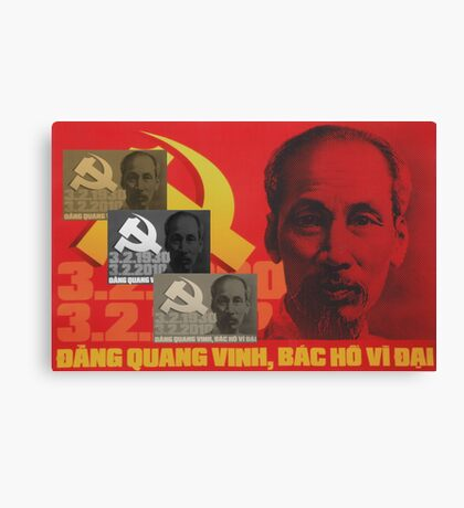 Uncle Ho Canvas Print