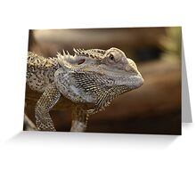 'The Lizard of OZ' Greeting Card