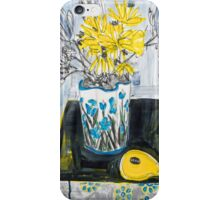 flowers and fabric 4 iPhone Case/Skin