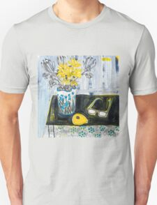 flowers and fabric 4 T-Shirt