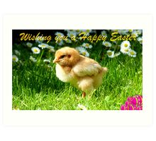 Wishing You A Happy Easter! Art Print